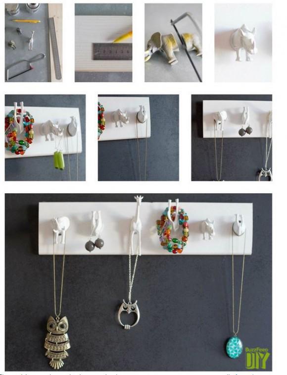 Diy 5 tuto de pr sentoirs pour bijoux l 39 atelier le blog des cr ateurs de bijoux cookson clal - Presentoir buffet a faire soi meme ...