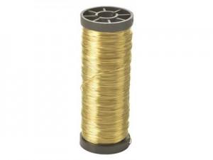 Fil laiton, n°14, 0,44 mm