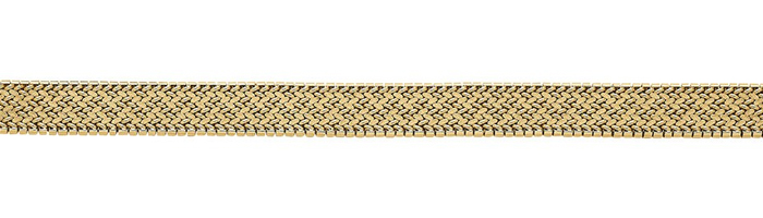 Polish mesh chain