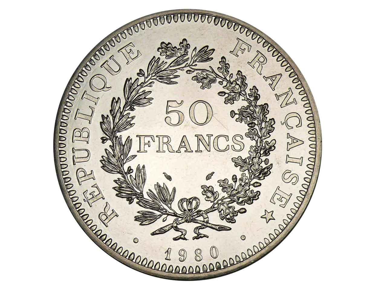 1109bb774460a4 Pièce Argent 50 Francs Hercule - cookson-clal.com