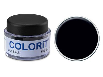 Colorit couleur noir pot de 18 gr