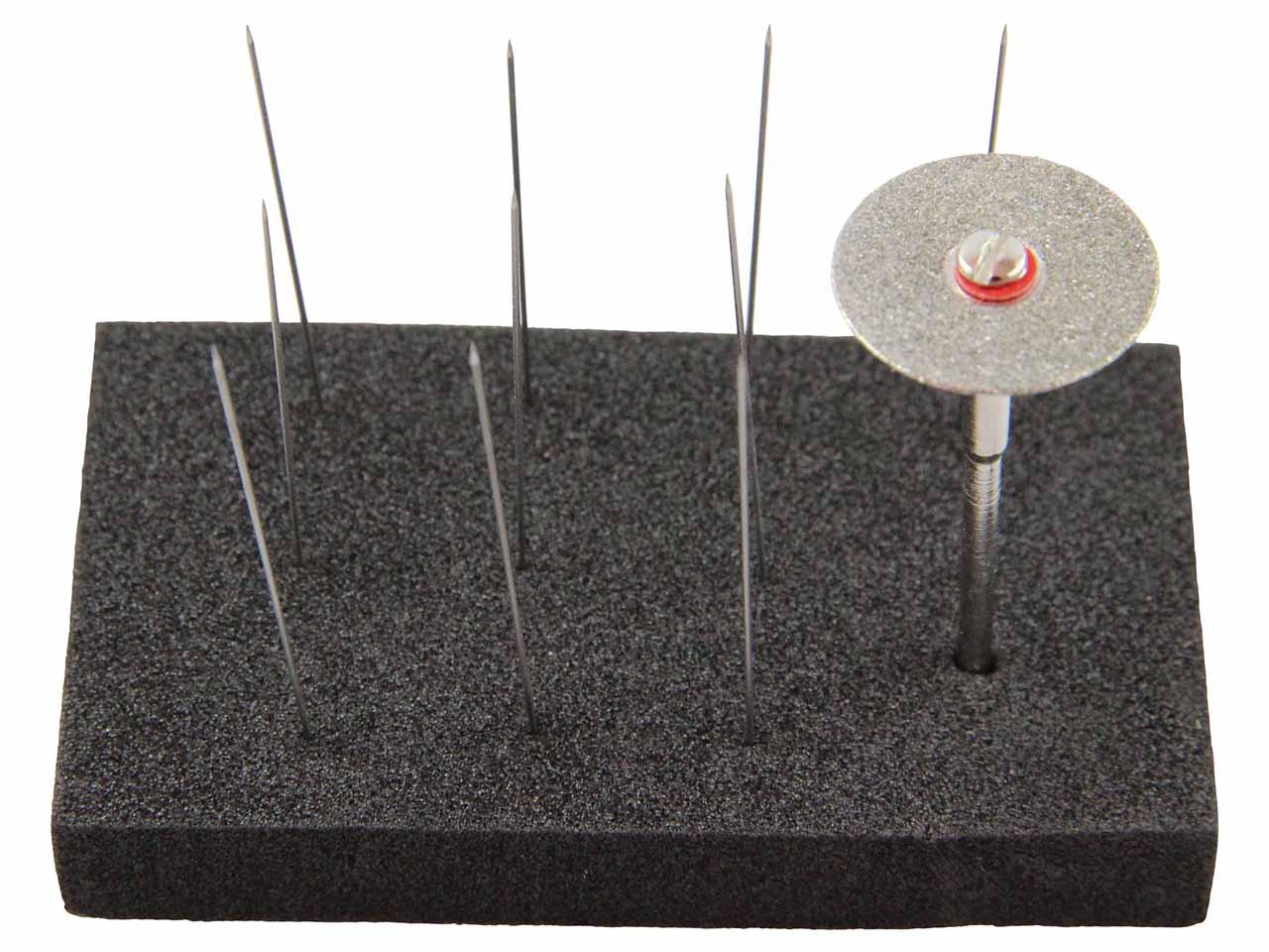 plus tard comment trouver prix bas Jeu de 10 électrodes diamètre 0,50 mm et disque diamant d'affutage pour  PUK, Lampert