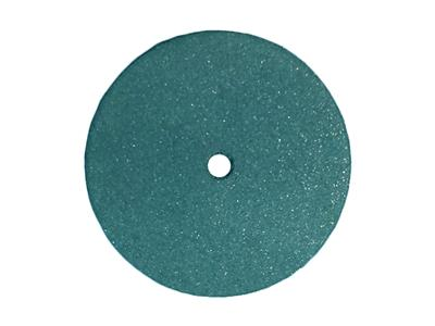 Meulette caoutchouc ronde, bleue, grain super brillant, 22 x 3,1 mm, n 5004, Dedeco