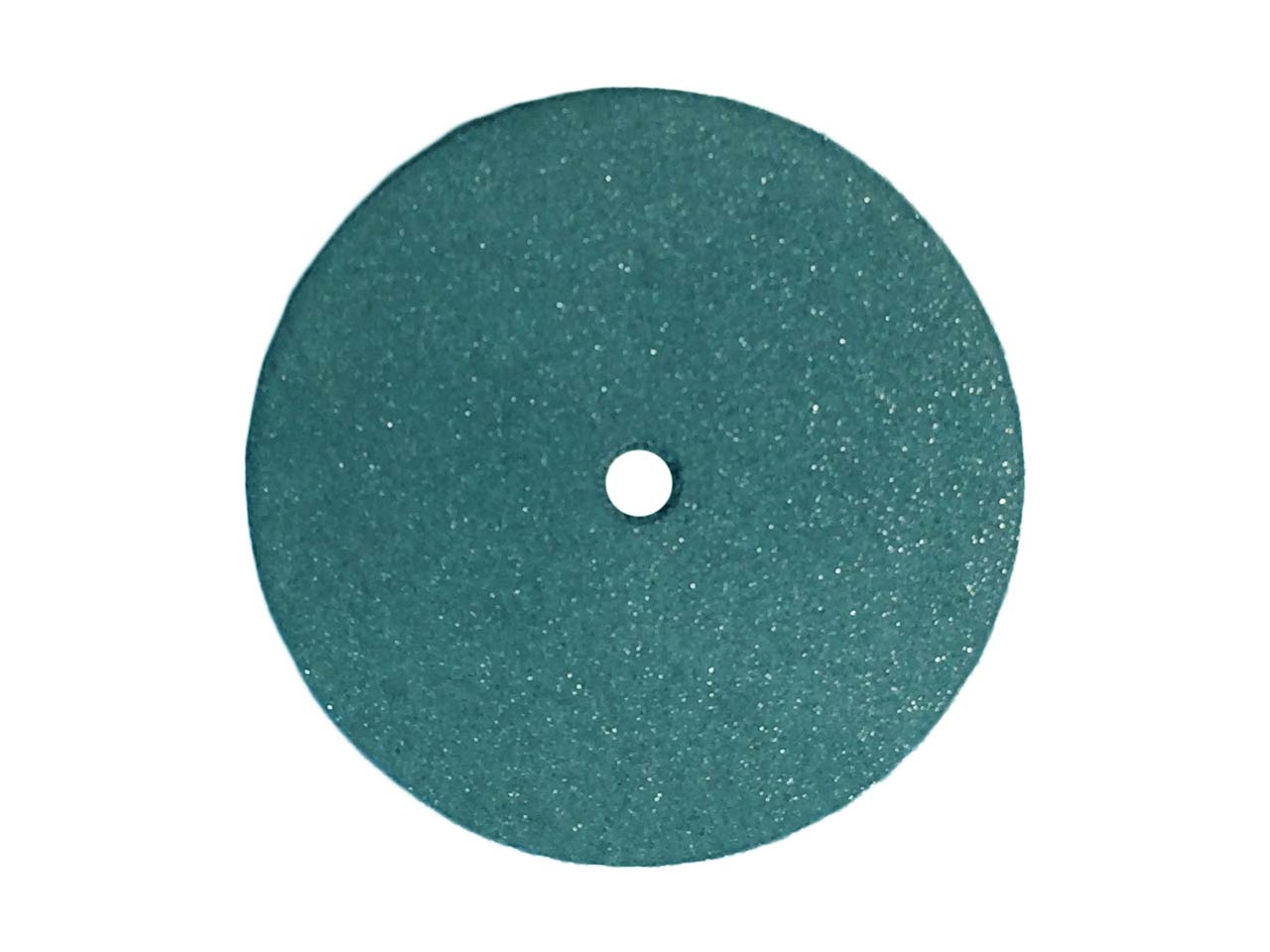 Meulette caoutchouc ronde, bleue, grain super brillant, dimensions 22 x 3,1 mm, n° 5004, Dedeco