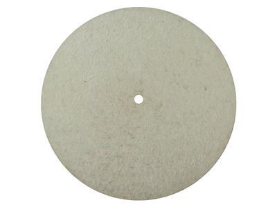 Meulette feutre, lentille, diamètre 0,40 mm