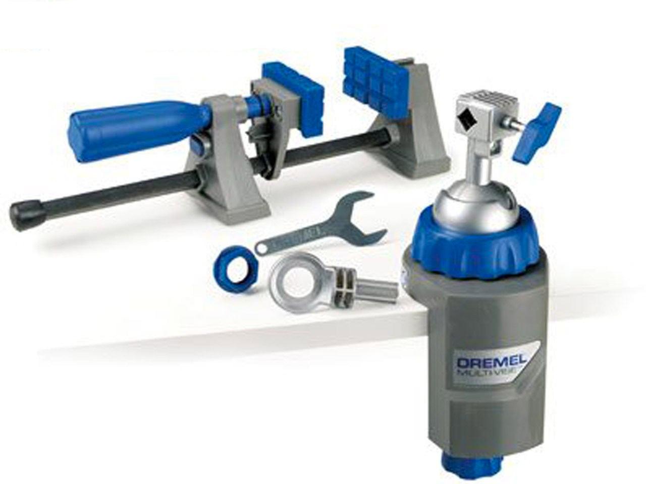 porte outils serre-joint Dremel Etau Multi-Vise outil 3-en-1 étau stationnaire