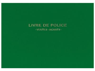 livre de police pour bijoutier cookson clal. Black Bedroom Furniture Sets. Home Design Ideas