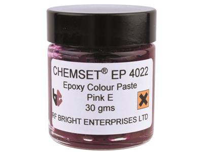 Pâte Epoxy rose opaque, Réf. EP4022, pot de 30 g