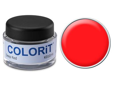 Colorit couleur rouge fonc pot de 5 gr