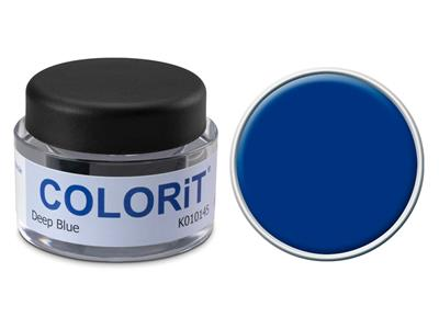 Colorit couleur bleu fonc pot de 5 gr