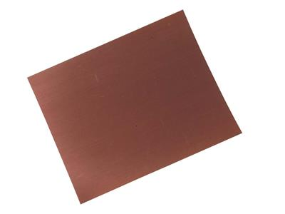 Papier meri rouge grain 2500 230 x 280 mm la feuille