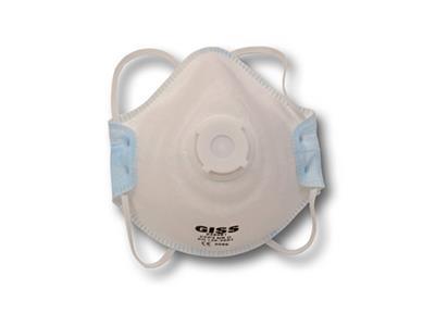 Masque anti poussiere coque FFP2 avec valve, G air plus, Giss