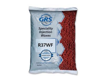 Cire à injecter Burgundy General Purpose, GRS, sachet de 1 kg