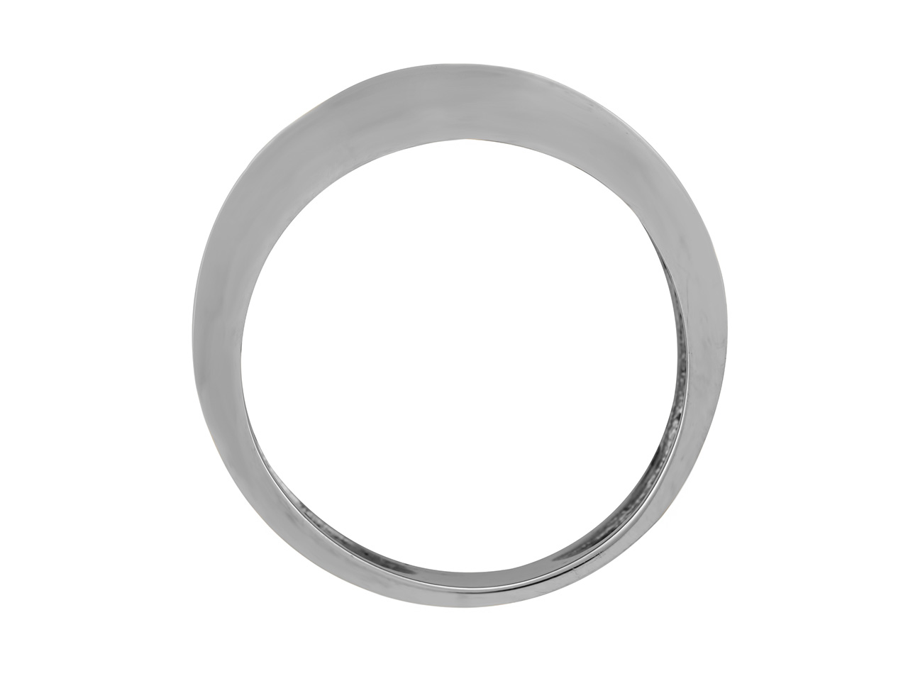 Jonc, Or gris 800, 8,44 mm, réf.BJP53