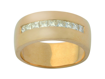 Alliance 00904 pour 7  9 princesses de 25 x 25 mm Or jaune 18k