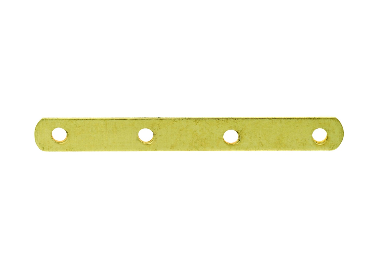 Intercalaire barrette 4 trous 22 mm, Or jaune 18k, n° 4 Bis