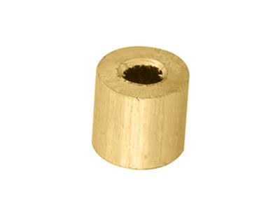 Douille cylindrique 270 x 120 x 250 mm Or jaune 18k