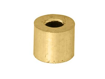 Douille cylindrique 320 x 140 x 270 mm Or jaune 18k