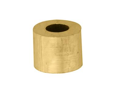 Douille cylindrique 370 x 170 x 300 mm Or jaune 18k
