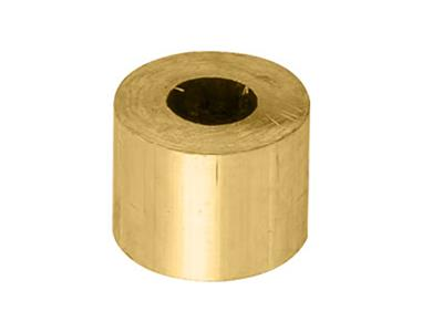 Douille cylindrique 400 x 170 x 300 mm Or jaune 18k