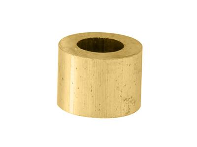 Douille cylindrique 600 x 330 x 400 mm Or jaune 18k