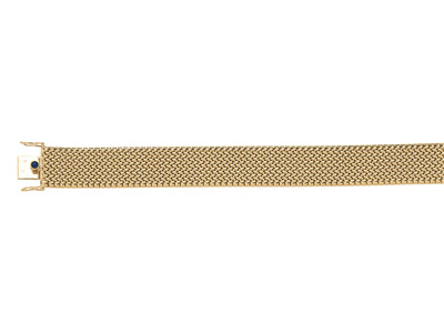 Bracelet-Polonais-Or-jaune-18k,-17-mm...