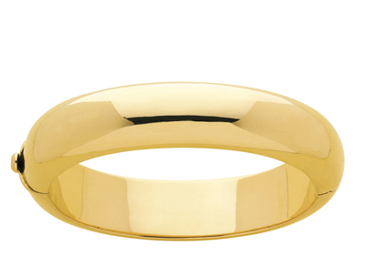 Bracelet Jonc 14,9 mm, 58 mm, Or jaune 18k
