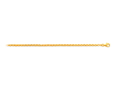 Collier-maille-Jaseron-2,4-mm,-45-cm,...
