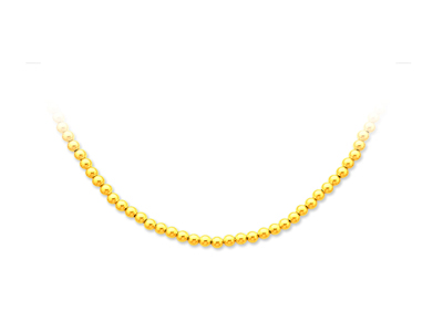 Collier-boules-parisien,-Or-jaune-18k...