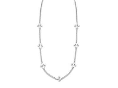 Collier-Ancre-marine,-Argent-925-rhod...