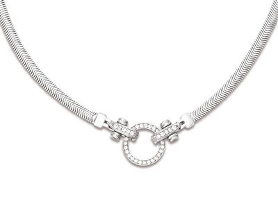 Collier-maille-Serpent-plat-4,5-mm,-F...