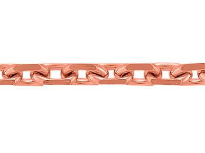 Chane maille Forat diamante 090 mm Or Rouge 18k. Rf. 00092