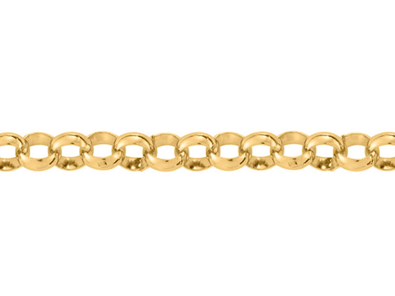 Apprêt extension chaînette Jaseron Plaqué or 18 Carats Bijoux bracelet//Collier