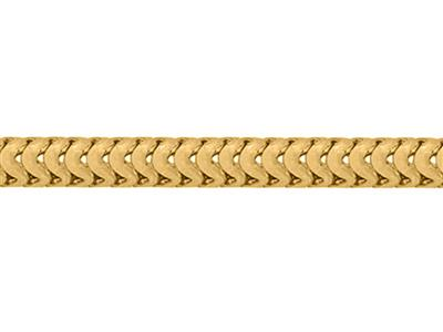 Chaine Serpent ronde 12 mm Or jaune 18k. Rf. 10018