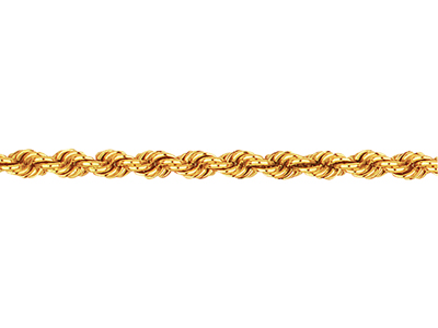 Chaine-Corde-massive,-4,4-mm,-Or-jaun...