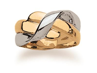 Bague-Noeud-59971,-Or-bicolore-18k