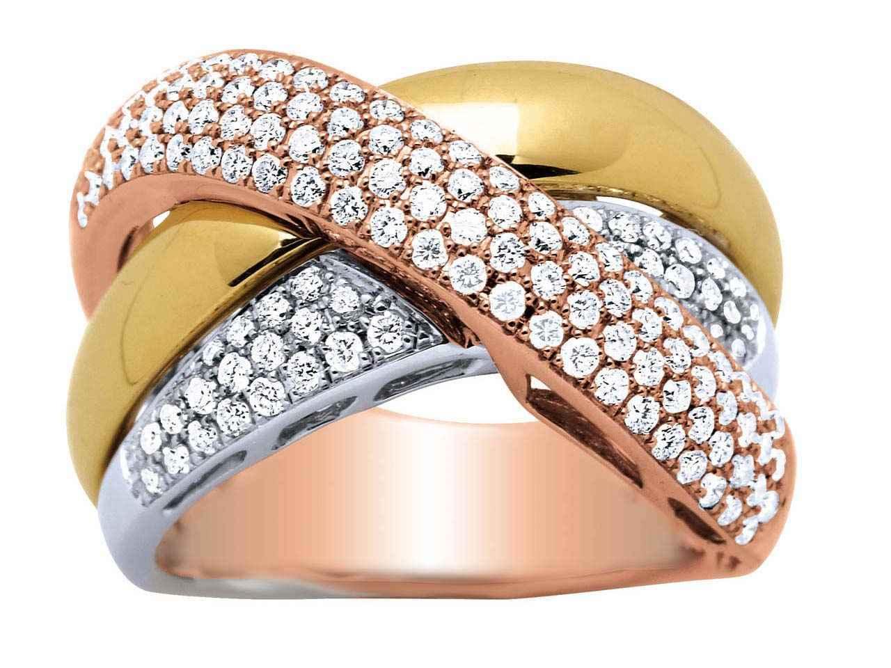 bague diamant 3 ors