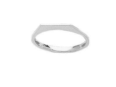 Corps de bague ferm Or gris 800 rf.01821