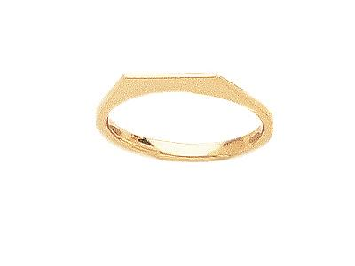 Corps de bague ferm 01821 Or jaune 18k