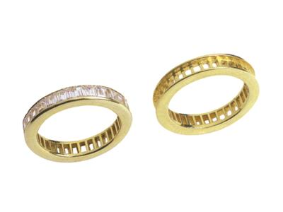 Alliance 00340 Or jaune 18 k sur commande