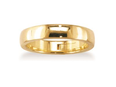 Bague Alliance Superfit 0706 Or jaune 18k SUR COMMANDE