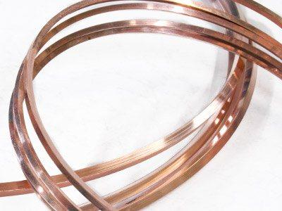 Fil-carré-4-mm,-Or-18k-rose,-recuit