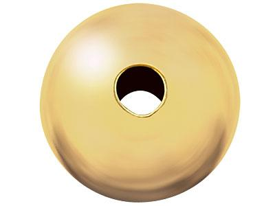 Boule-lourde-2-trous-8-mm,-Or-jaune-1...