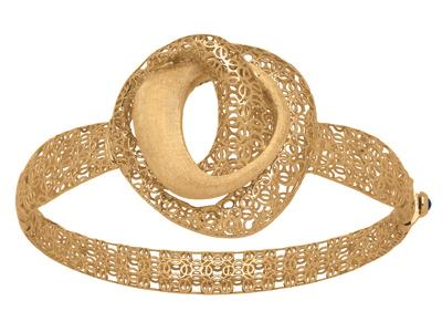 Bracelet-Jonc-arabesque,-Or-jaune-18k...
