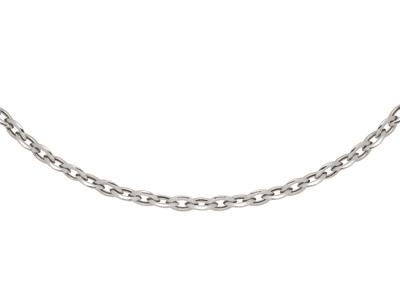 Collier-maille-amande-10-mm,-Argent-9...