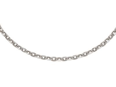 Collier-maille-Amande-10-mm,-45-cm,-A...