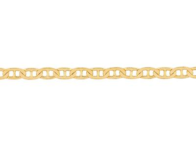 Chaine-maille-Marine-battue-2,9-mm,-O...