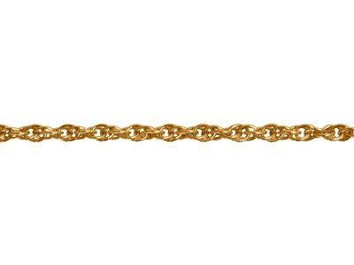 Chaine maille Forat double 2 mm Or jaune 18k. Rf. 00680
