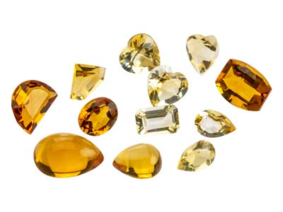 Citrine, assortiments