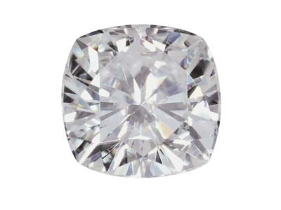 Moissanite coussin, environ 4,50 mm, 0,42 ct